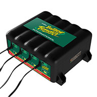 4 BANK / 4 1.25 AMP BATTERY CHARGERS 12V Battery Charging Station