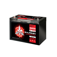 2200W / 110AMP HOURS AGM 12V Starting Battery