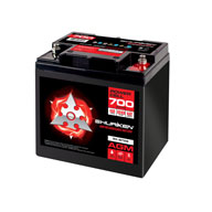 700W / 28AMP HOURS AGM 12V Starting Battery