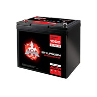 1500W / 60AMP HOURS Compact Size AGM 12V Battery