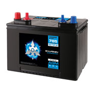 785AMP COLD CRANK / 120 MIN RESERVE / 55AMP HOURS AGM Marine 12V Starting Battery