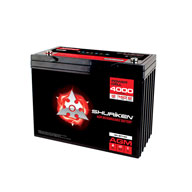 4000W / 140AMP HOURS AGM 12V Battery