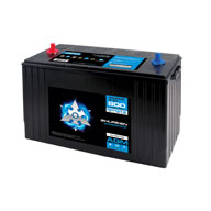 800AMP COLD CRANK / 190 MIN RESERVE / 100AMP HOURS Large Size AGM Marine Battery